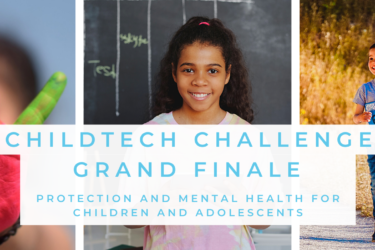 Check the candidates who move forward in the selection process and compete to be one of the winners of the ChildTech Challenge – Protection and Mental Health Award for Children and Adolescents